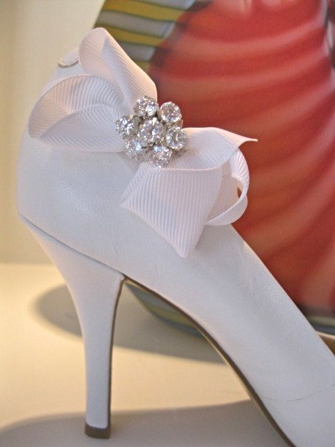 rhinestone shoe clip