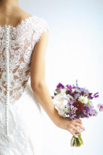 stylemepretty wedding dress lace back
